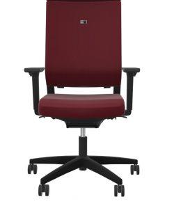 Viasit Impulse bureaustoel rood