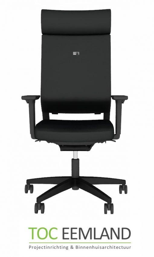 Viasit Impulse bureaustoel zwart