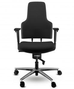 Bureaustoel zwart ergonomisch