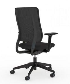 Drumback bureaustoel zwart viasit