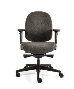 bureaustoel grijs hera