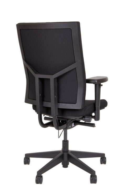 thuiswerk bureaustoel zwart