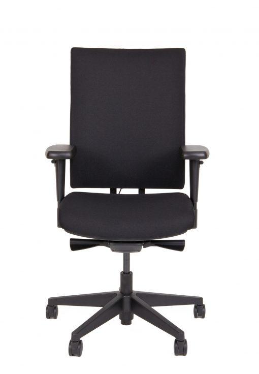 zwarte ergonomische bureaustoel