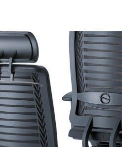 Girsberger reflex rug bureaustoel