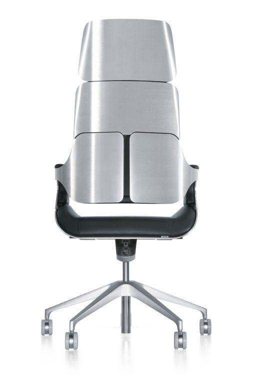 Interstuhl silver black bureaustoel