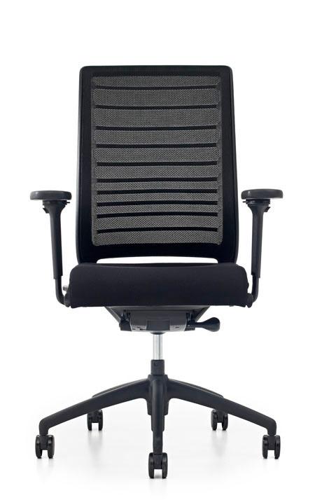 bureaustoel interstuhl hero zwart