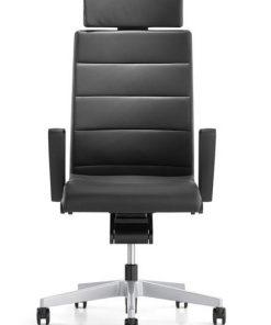 champ bureaustoel met hoofdsteun