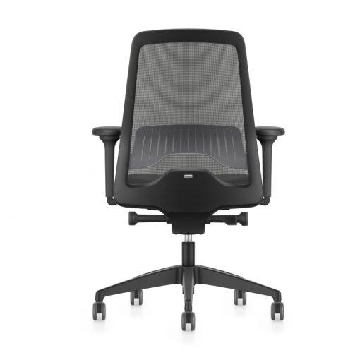 ergonomische bureaustoel zwart