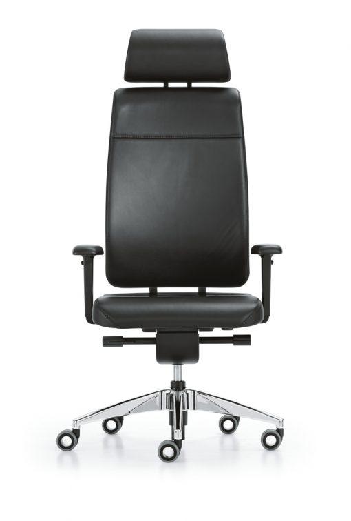 girsberger reflex bureaustoel in leer