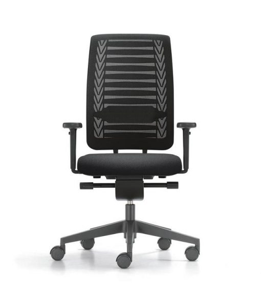 girsberger reflex bureaustoel met lendensteun
