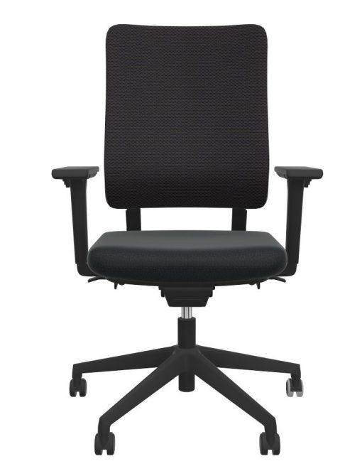 Viasit Drumback bureaustoel zwart